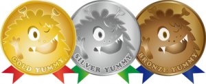Yummy's Medals
