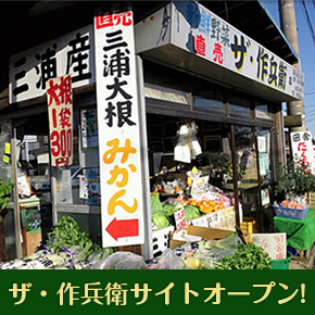 三浦のアートな野菜直売所「ザ・作兵衛」のWebサイトがオープン!